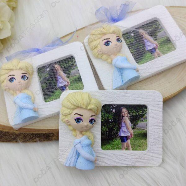 Elsa Fotoğraf Çerçevesi Magnet Hediyelikler (1)
