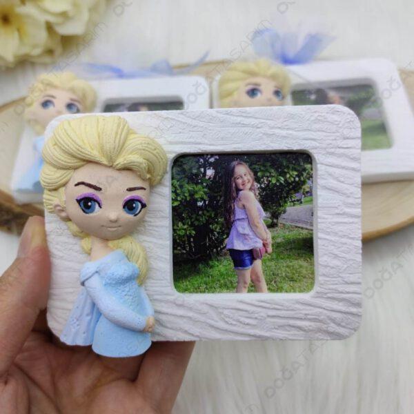 Elsa Fotoğraf Çerçevesi Magnet Hediyelikler (2)
