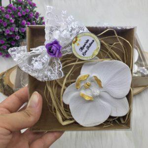 Kına Hatırası Orkide Kokulu Taş Magnet (1)