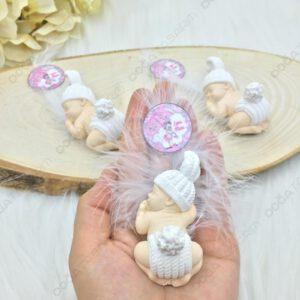 Kokulu Taş Bebek Magneti Mevlüt Hediyelikleri (1)