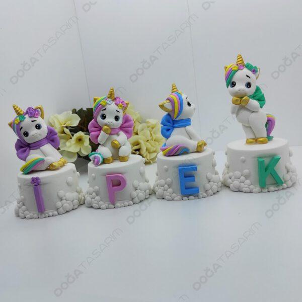 Unicorn Konsept Bebek Odası Kokulu Taş İsimlik (1)